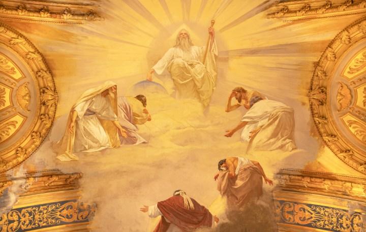 dieu dans le ciel