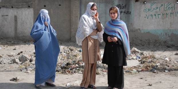 AFGHANISTAN, WOMEN, BURQA