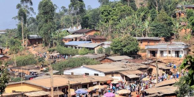 Village near Bamenda Cameroon