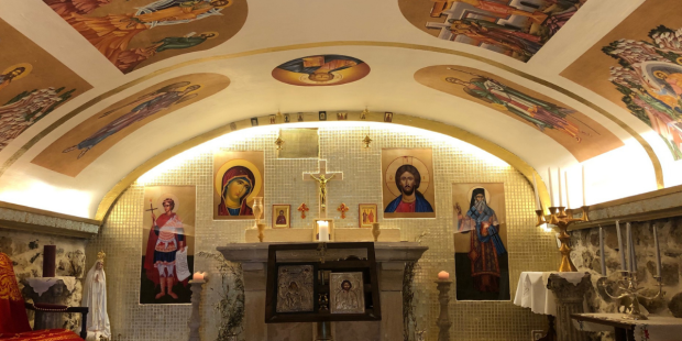 Saint Phanourios orthodox chapel