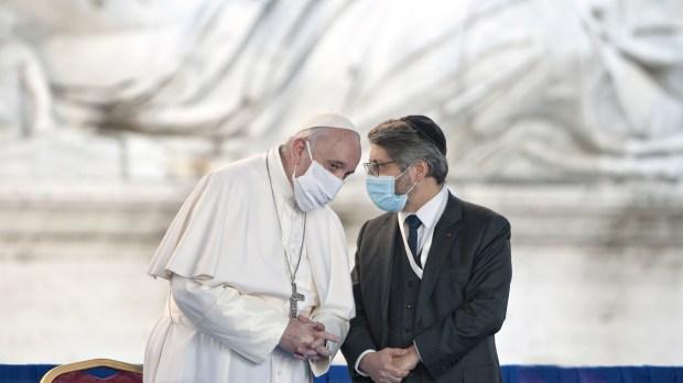 pape françois Haïm KORSIA