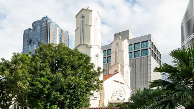 Cathédrale saint Jean Malaisie