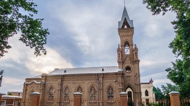 Saint John the Baptist church Samarkand; Uzbekistan
